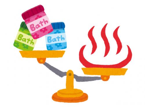 温泉は入浴剤より濃い